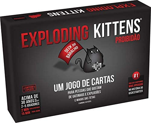 Board Game - Exploding Kittens Proibidao