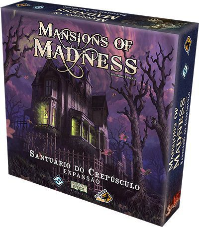 Board Game - Santuário do Crepúsculo - Expansão Mansions of Madness