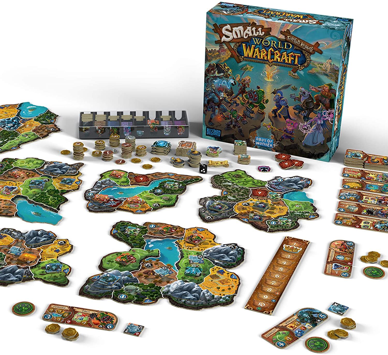 Board Game - Small World of Warcraft