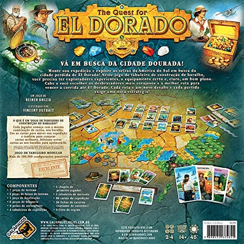 Board Game - The Quest for El dorado
