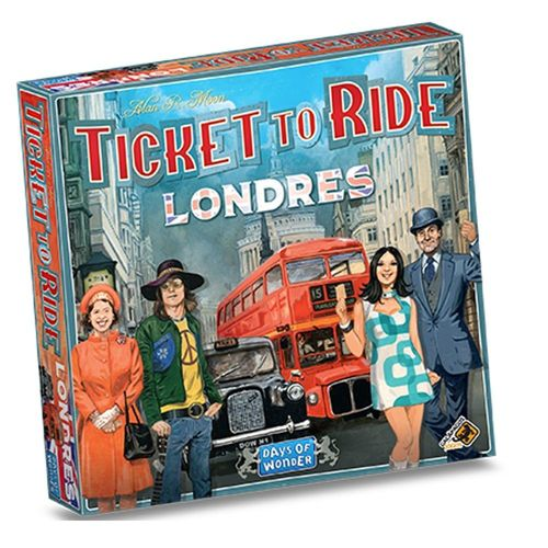 Board Game - Ticket to Ride Londres