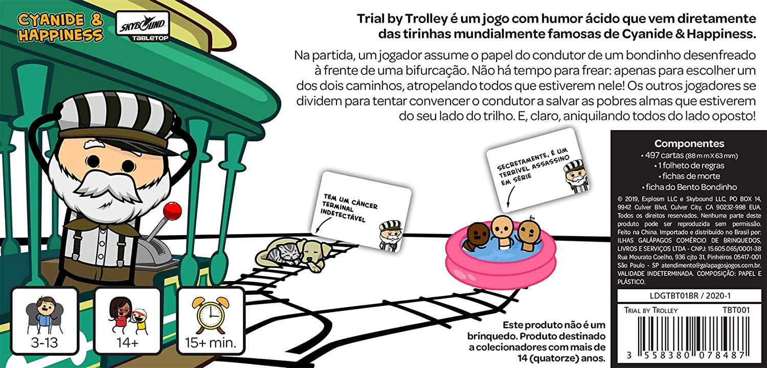 Board Game - Trial by Trolley