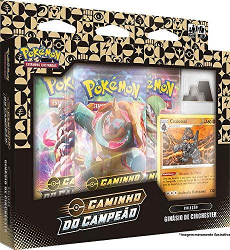 Box Pokémon Caminho Do Campeão - Ginásio de Circhester Coalossal