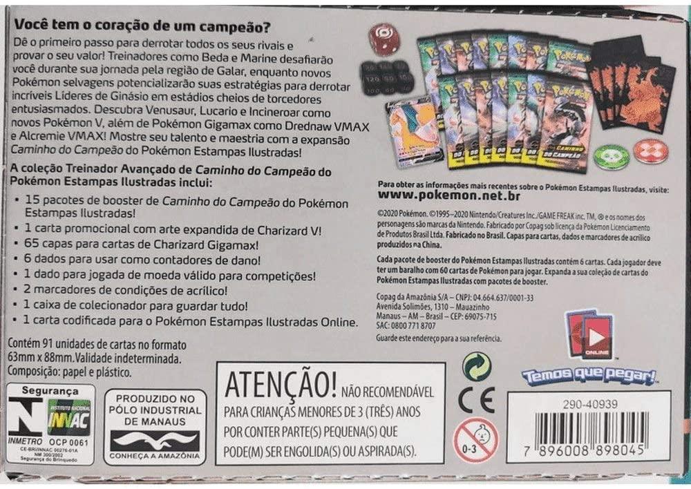 Box Pokémon Ferramentas De Treinador Copag cards cartas Dedenne-GX - SUIKA