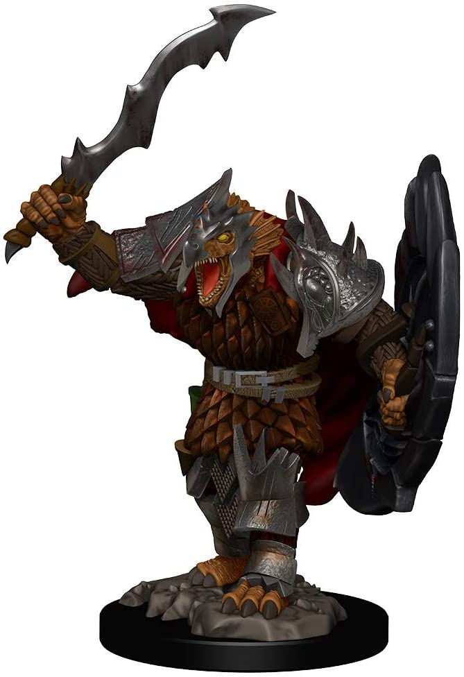DD Icons of the Realms Premium Figures Dragonborn Male Fighter