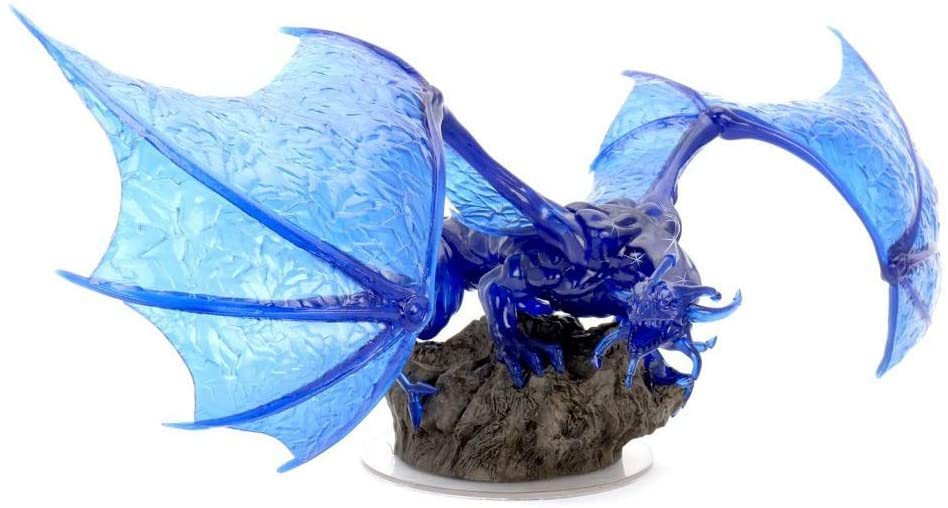DD Icons of the Realms Premium Figures Sapphire Dragon