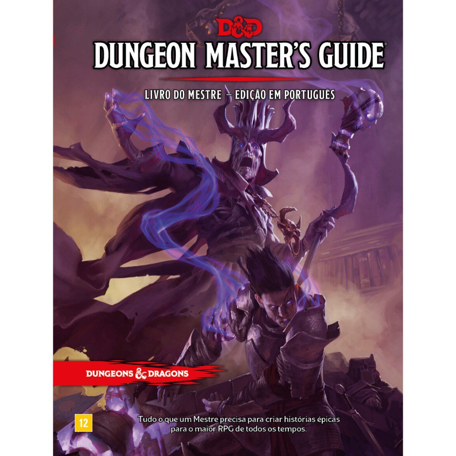 DeD Dungeon Masters Guide - Livro do Mestre