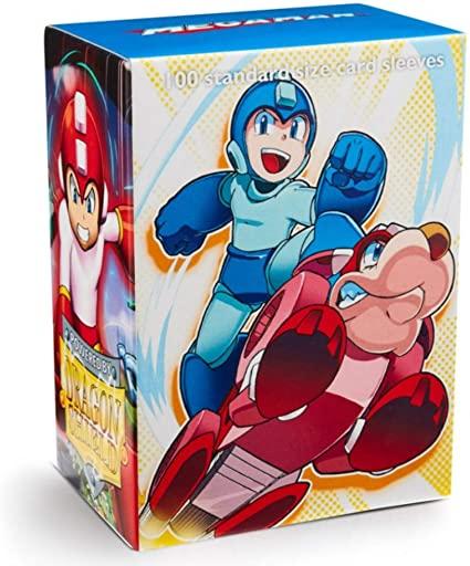 Dragon Shield Estampado - Mega Man e Rush