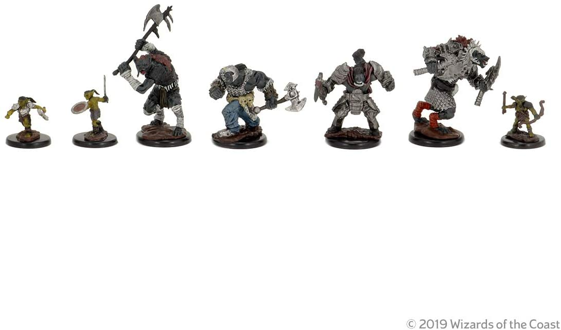 Dungeons Dragons DD Icons of the Realms Monster Pack Village Raiders
