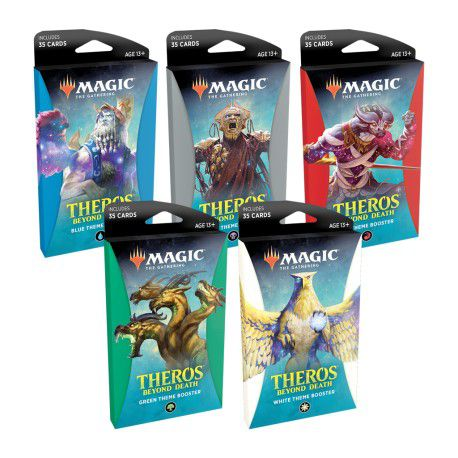 Magic - Theros Além da Morte Theme Booster Ingles