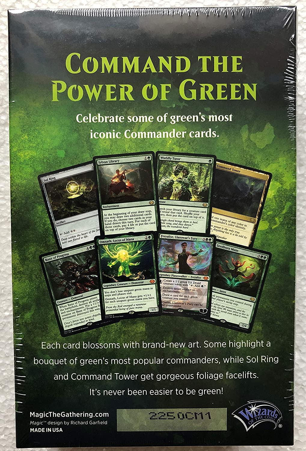 MTG Commander Collection Green Ingles