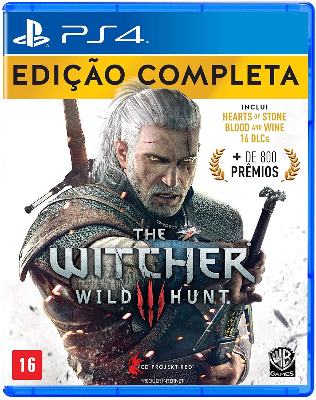 PLAY - THE WITCHER 3 - EDIÇÃO COMPLETA