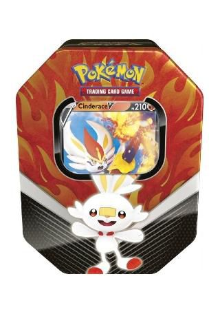 Pokémon - Lata Parceiros de Galar - Cinderace