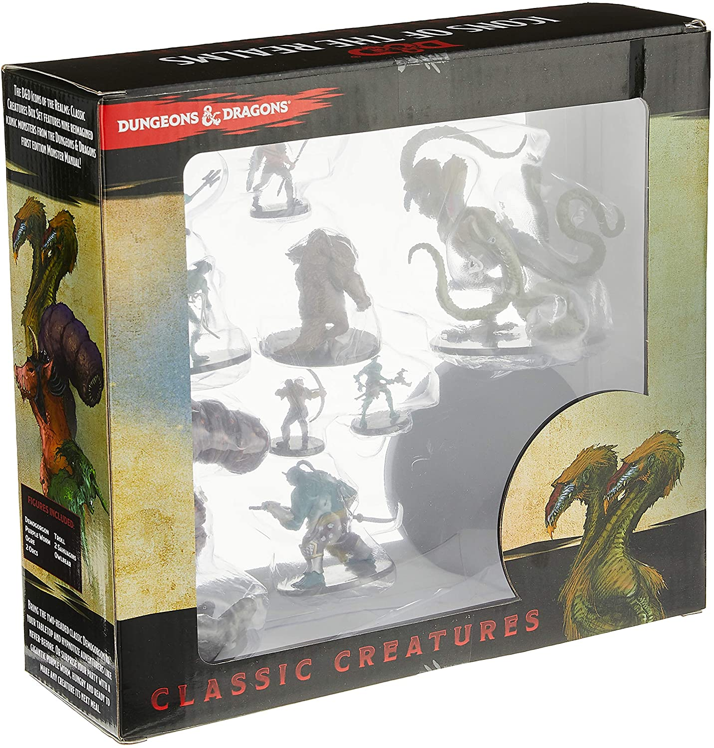 RPG- Dungeons Dragons DD Classic Creatures