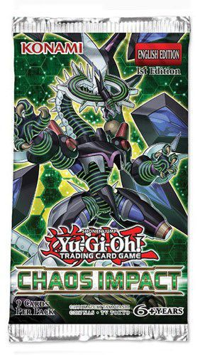 Yu-Gi-Oh - Booster Impacto do Caos - Chaos Impact