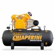 COMPRESSOR CHIAPERINI 25PES 5HP 175PSI 250LTS 220/380V TRIFASICO