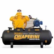 COMPRESSOR CHIAPERINI 40PES 10HP 175PSI 425LTS 220/380V TRIF.