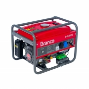 GERADOR DE ENERGIA À GASOLINA BRANCO B4T-3500