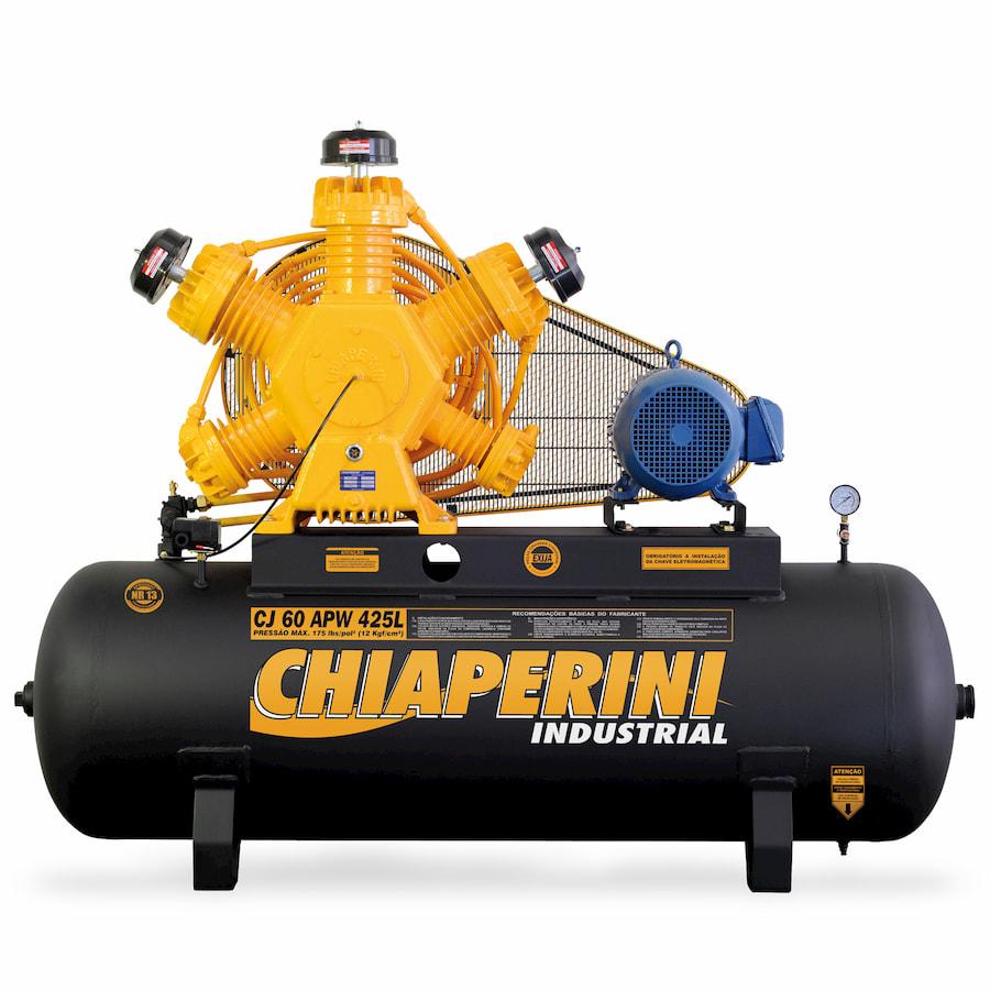 COMPRESSOR CHIAPERINI 60PES 15HP 175PSI 425LTS 220/380V IP55