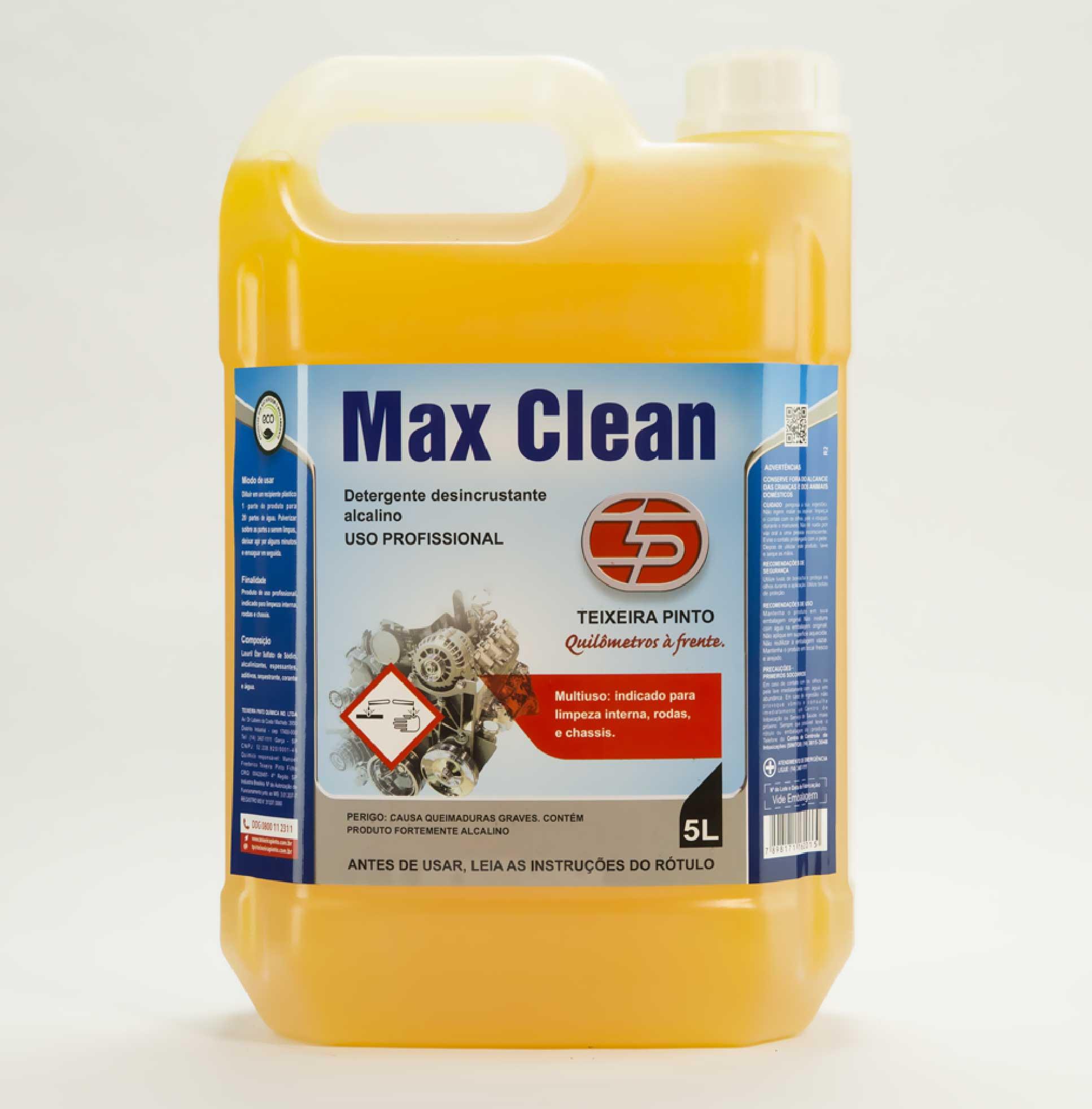 SHAMPOO MAX CLEAN 5L