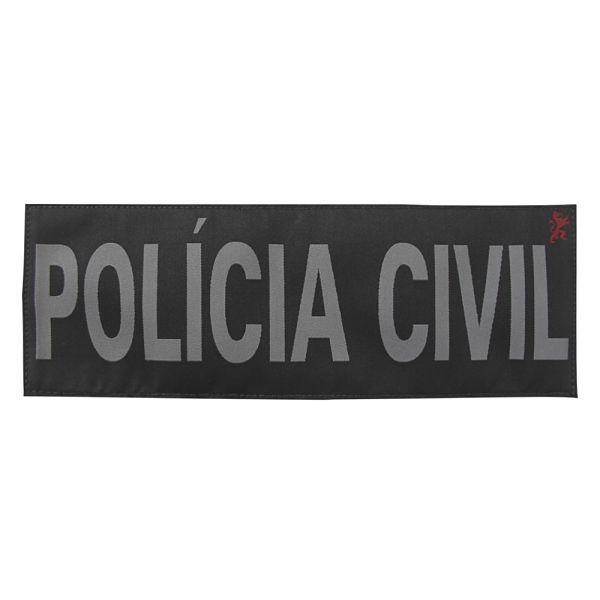 Identificação POLÍCIA CIVIL Preta