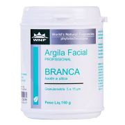 Argila Branca Facial Profissional WNF 150g