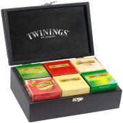 Caixa Madeira Coleção Chás Twinings 60 Sachês