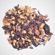Chá Aromatizado Cranberry Importado a Granel 50g.