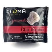 Chá Hibisco Tropical  - 10 Cáps para Nespresso.