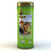 Chá Mate Verde Orgânico - Tribal - Lata 30 Sachês.