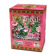 Chá Orgânico Hibiscus Lime - Tribal 15 Sachês.