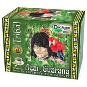 Chá Orgânico Mate com Açaí e Guaraná - Tribal - 15 sachês.