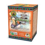 Chá Orgânico Mate Mandarina e Especiarias - Tribal - 15 sachês.