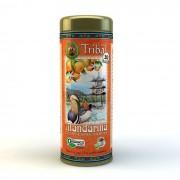 Chá Orgânico Mate Mandarina e Especiarias - Tribal - Lata 30 sachês.