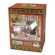 Chá Orgânico Mate Vanilla Peach - Tribal - 15 sachês.