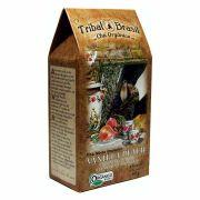 Chá Orgânico Mate Vanilla Peach - Tribal - Caixa a Granel 80g.