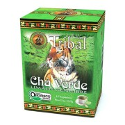 Chá Orgânico Verde Limão e Gengibre - Tribal - 15 sachês.