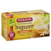 Chá Teekanne Gengibre e Curcuma (20 saq) 32,4g