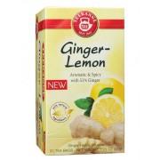Chá Teekanne Ginger Lemon. 20 saches.