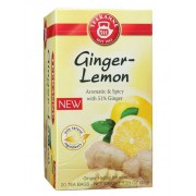 Chá Teekanne Ginger Lemon. 20 saches.