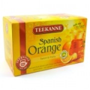 Chá Teekanne Spanish Orange. 20 Saches.