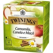 Chá Twinings of London Camomila, Canela e Maçã
