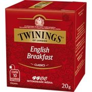 Chá Twinings of London English Breakfast Inglês