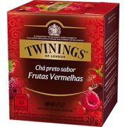 Chá Twinings of London Preto com Frutas Vermelhas
