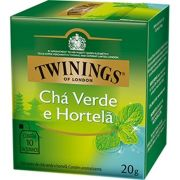 Chá Twinings of London Verde e Hortelã Importado