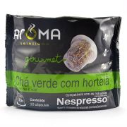 Chá Verde com Hortelã - 10 Cápsulas para Nespresso