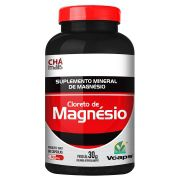 Cloreto de Magnésio 60 Cápsulas VCaps 500mg