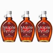 Maple Syrup 100% Puro 3 unid.