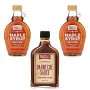 Maple Syrup 250ml 2 unid + 1 Molho Barbecue