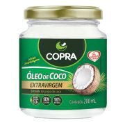 Óleo de Coco Extra Virgem Copra Orgânico 200ml